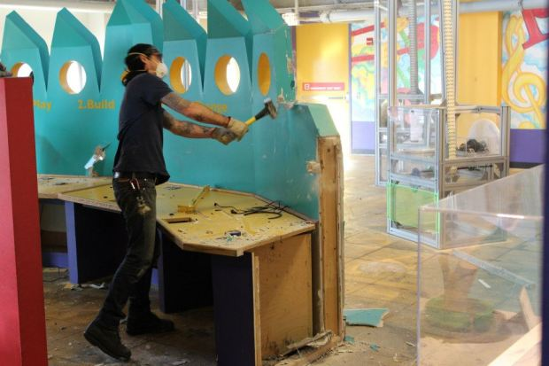 Inventing Lab Demolition