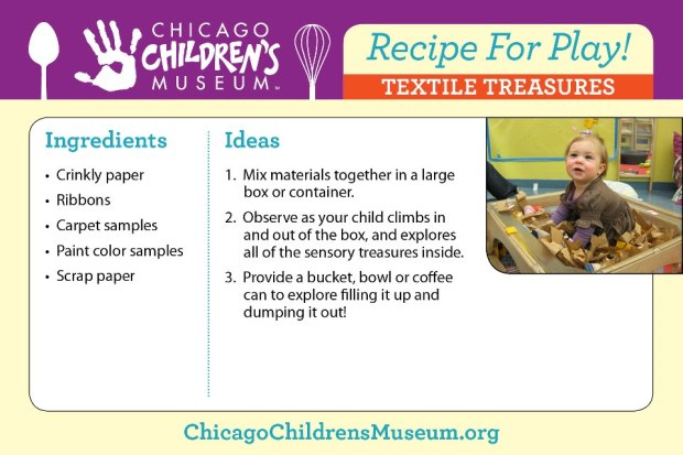 REcipe for play textile treasures